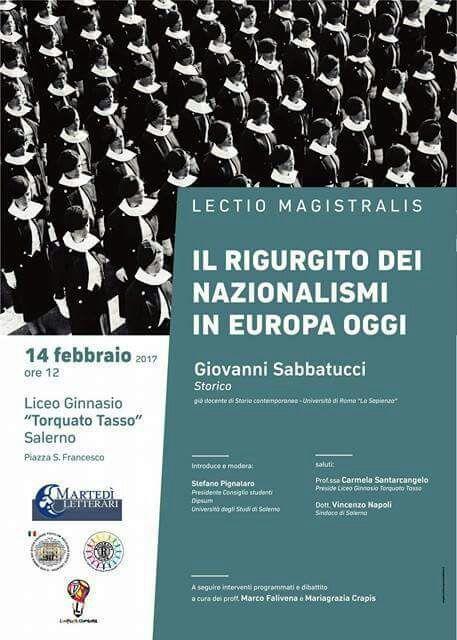 Lectio Magistralis di Giovanni Sabbatucci