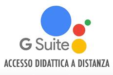 Gsuite - Accesso didattica a distanza