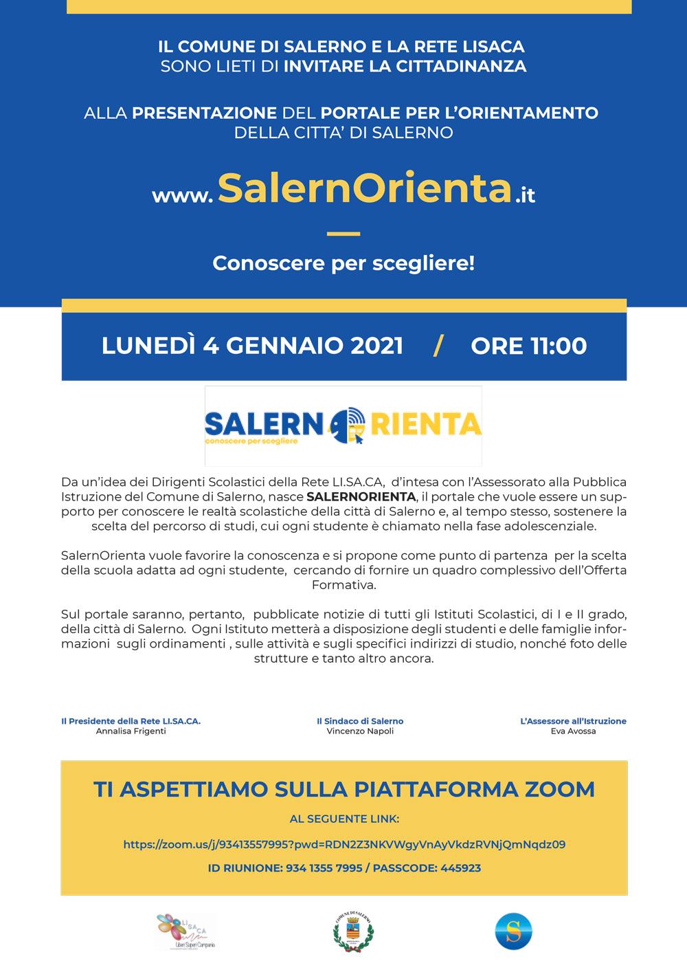 SalernOrienta.it: il portale per l'orientamento